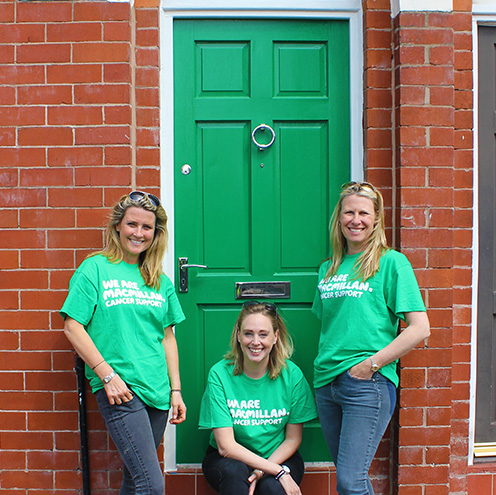Taylor Fay Homes and Macmillan Cancer Support have it covered with HMG Paints