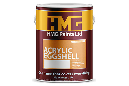 Acrylic Eggshell from HMG Paints