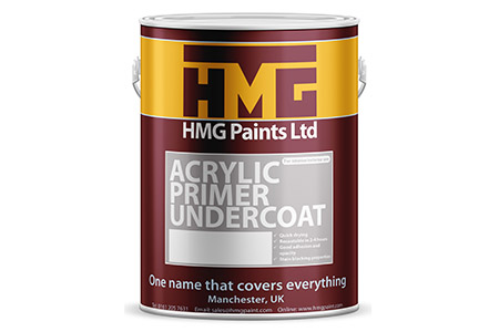 Acrylic Primer Undercoat from HMG Paints
