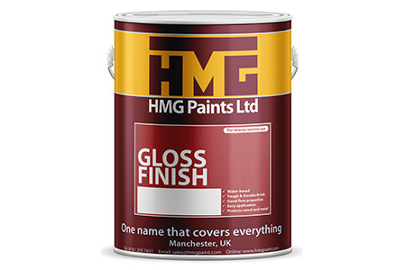 Gloss Finish Trim Paint from HMG Paints