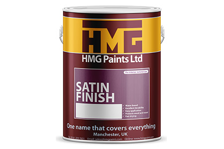 Satin Finish Trim Paint from HMG Paints