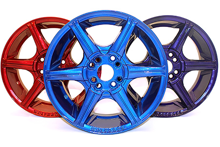 Powder Coated Alloy Wheels Manchester, HMG Paints