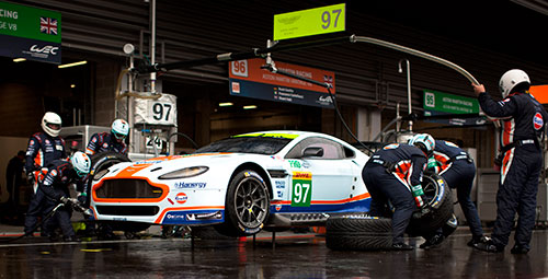 HMG Paints Technical Partner Prodrive Aston Martin Racing
