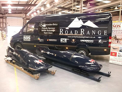 Manchester College and HMG Paints help British Bobsled team achieve Sochi 2014 goal